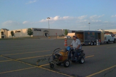 Parking Lot Line Striping Commercial Services - PMSI