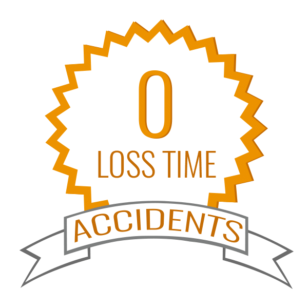 0 Percent Loss Time For Accidents